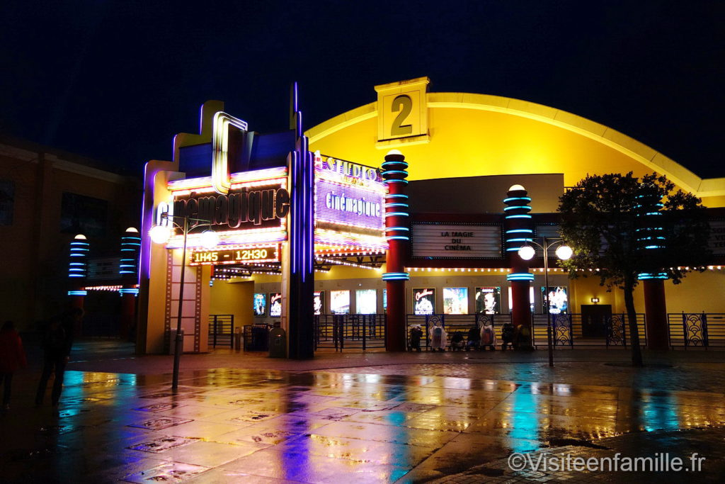 cinemagique de nuit à Walt Disney Studios Paris