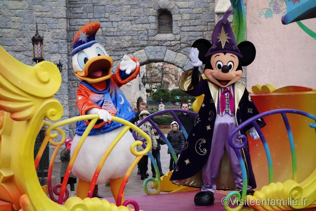 Donald et Mickey à Disneyland Paris