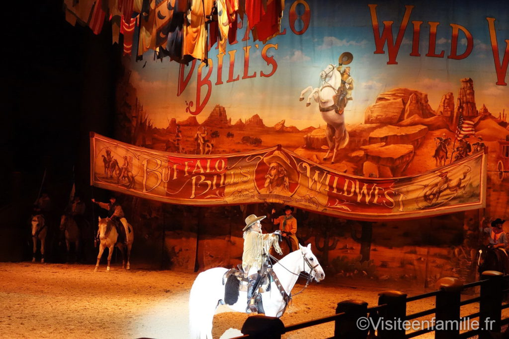 Buffalo Bill à Wild West Show Paris
