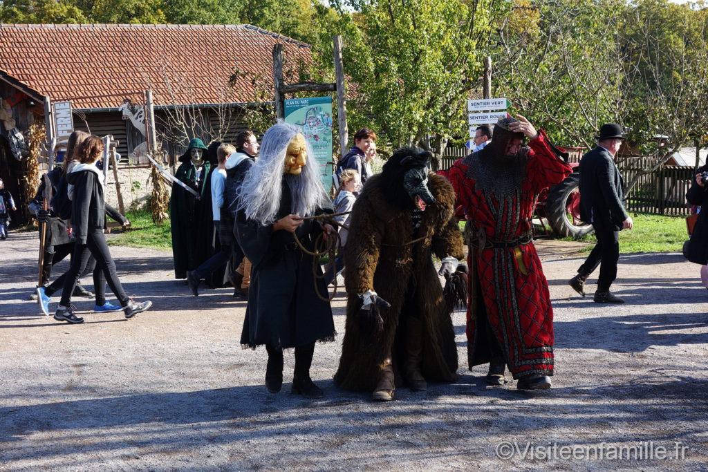 Halloween au parc de Sainte-Croix