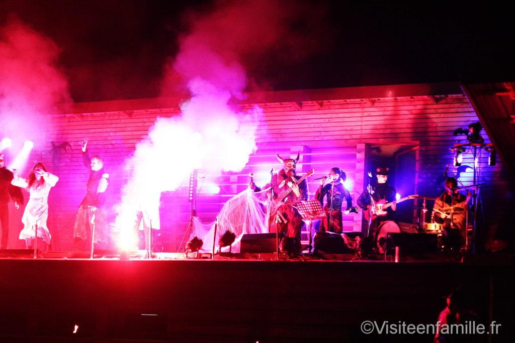Concert pour halloween parc de Sainte-Croix