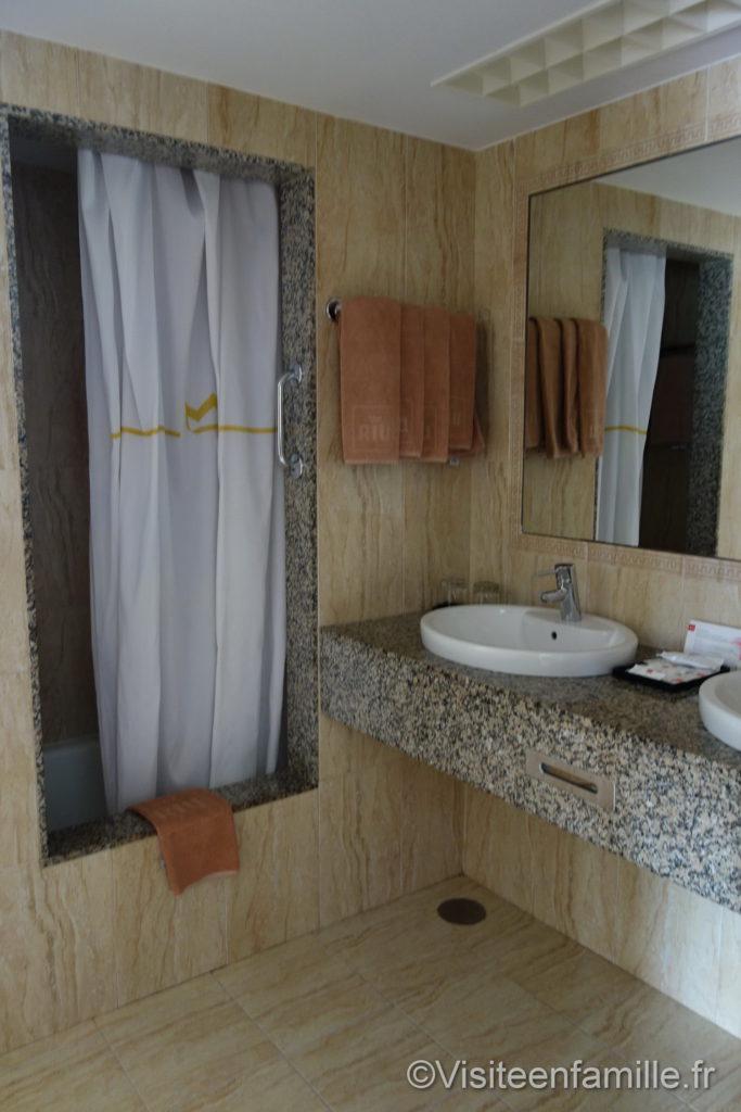 Salle de bain Hôtel Riu Paraiso