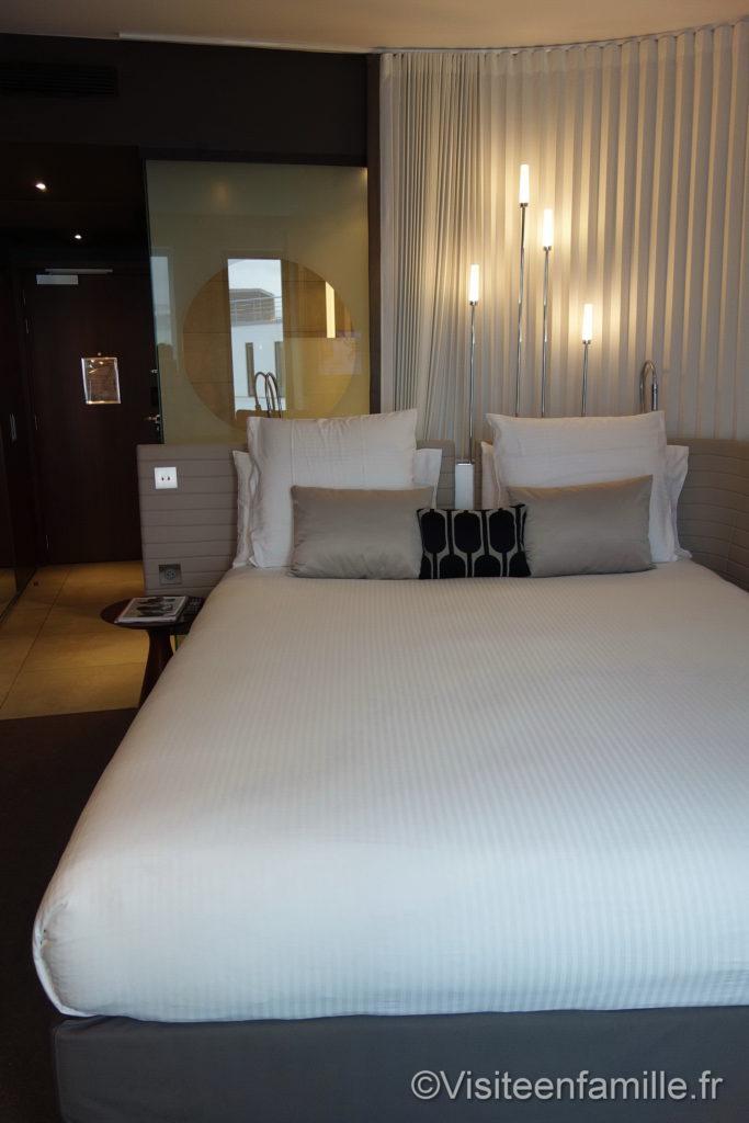 la chambre de l'hôtel Molitor Paris