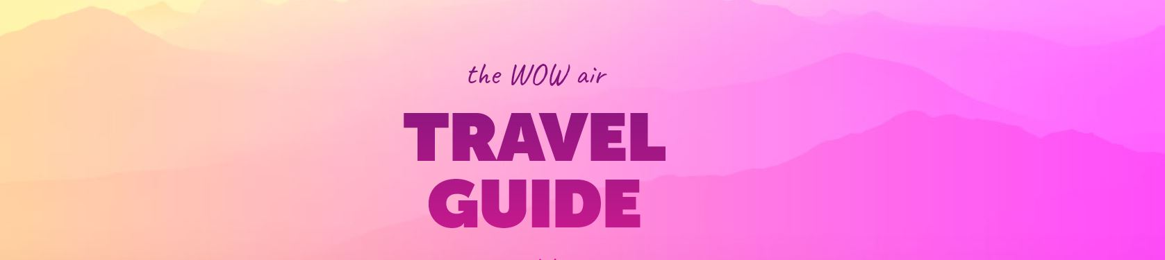 WOW Travel Guides