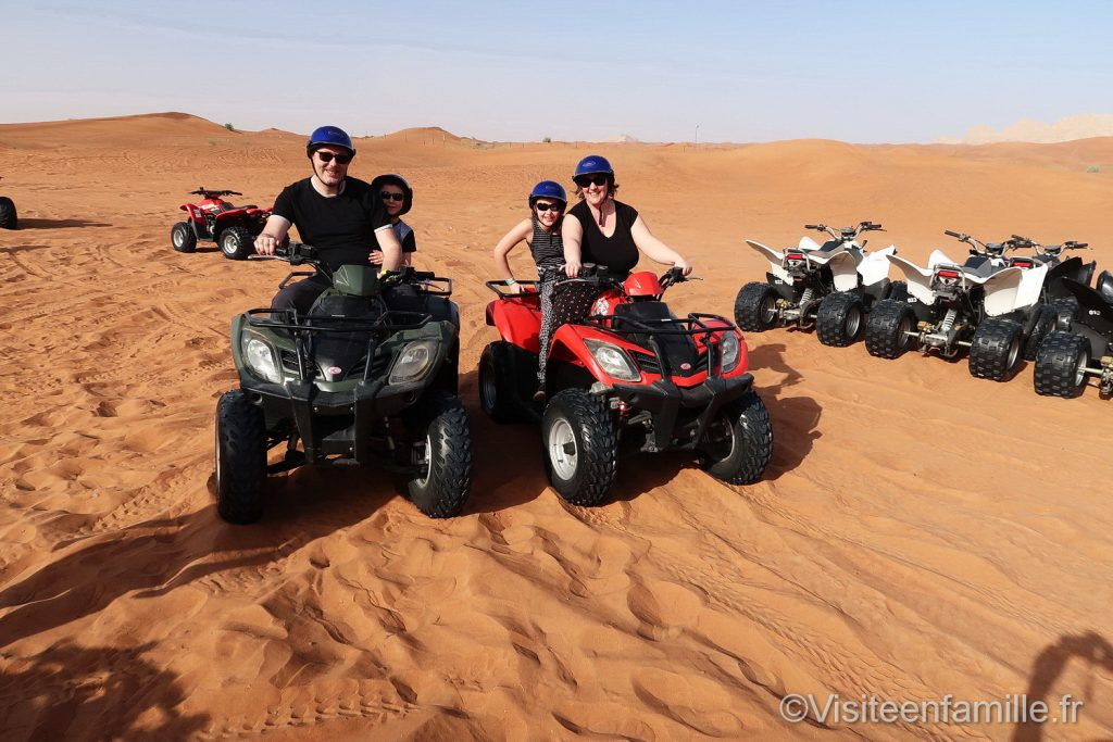 Quad in extreme safari dubai