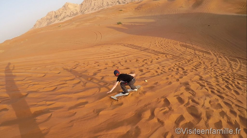 sandboard children dubai