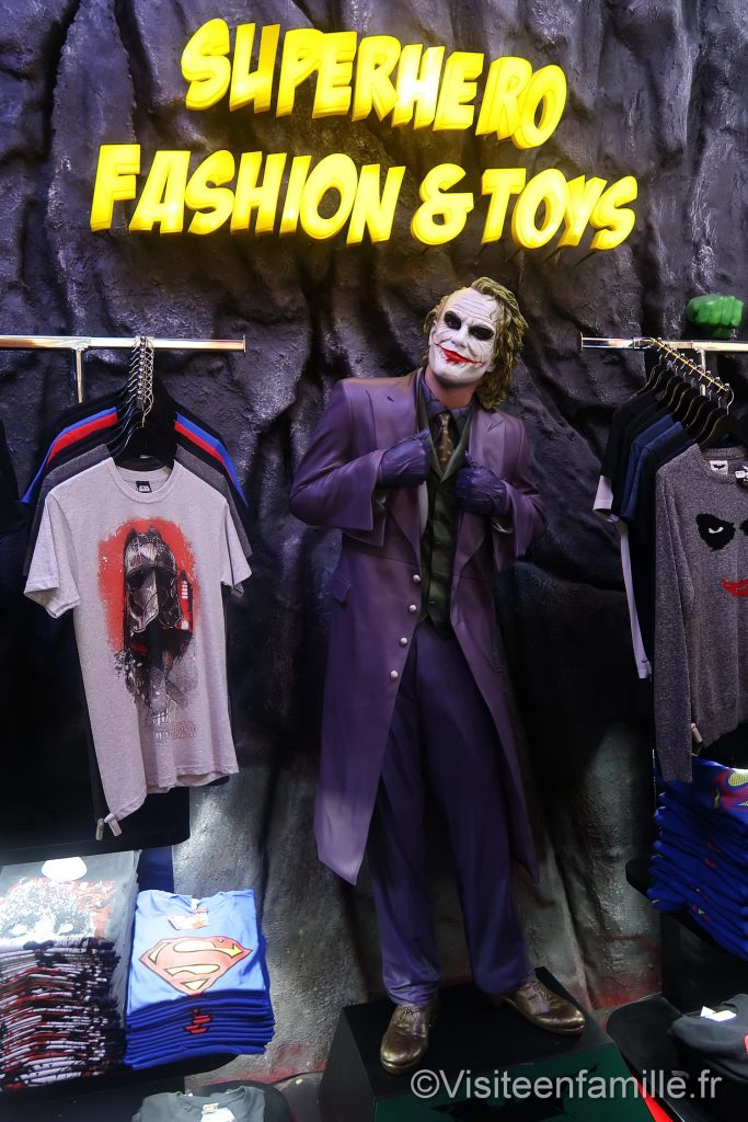 Superhero fashion and toys dubai mall