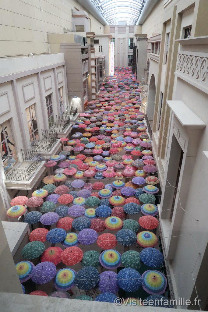 Parapluie dubai mall