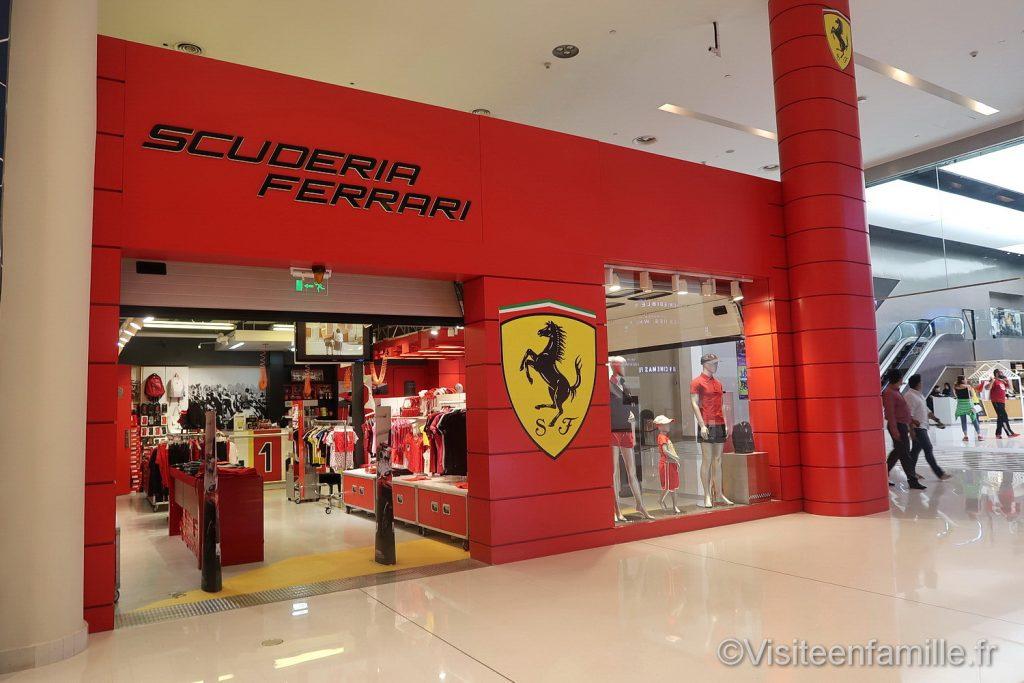 Scuderia Ferrari dubai mall