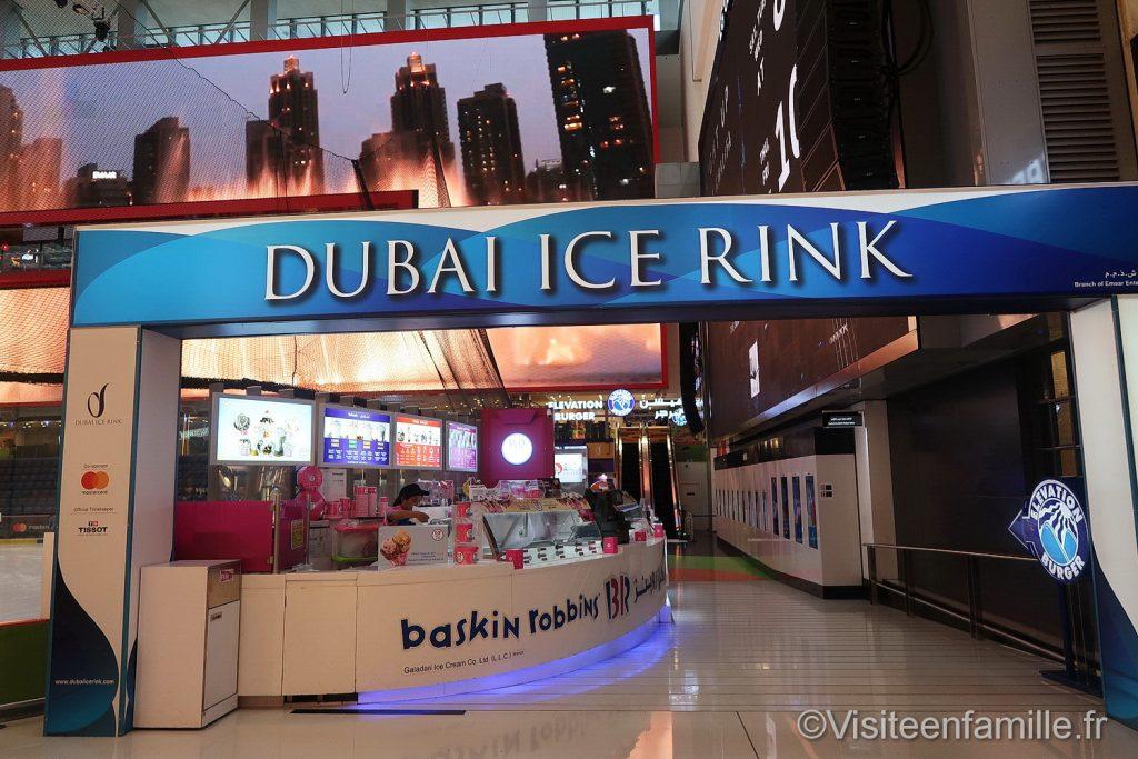 Dubai Ice Rink Dubai mall