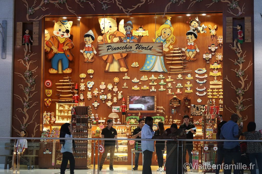 Pinocchio world dubai mall