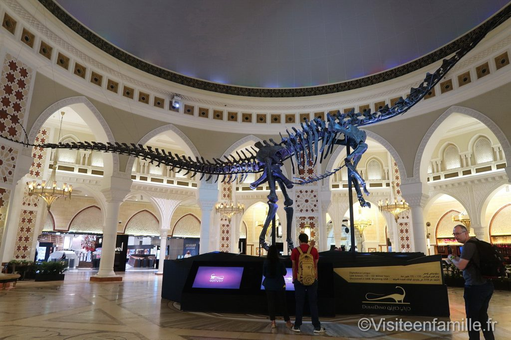 Dinosaure dubai mall