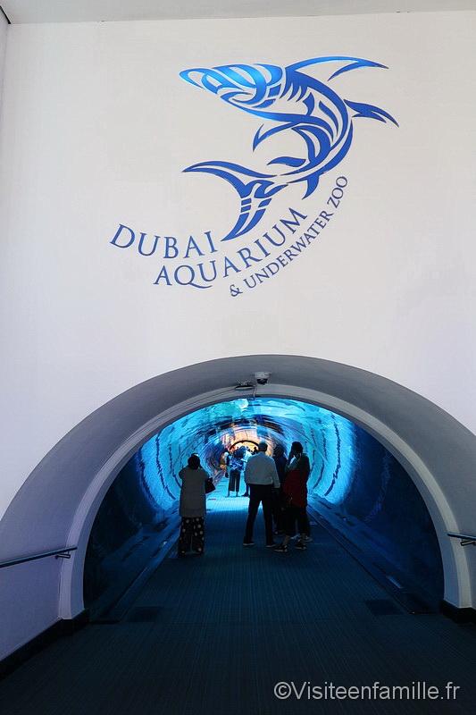 Dubai aquarium Dubai mall