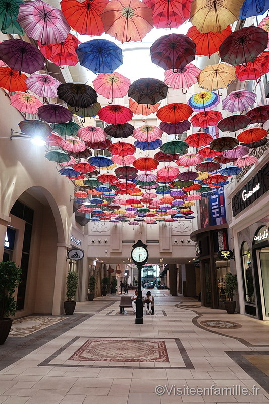 umbrella dubai mall