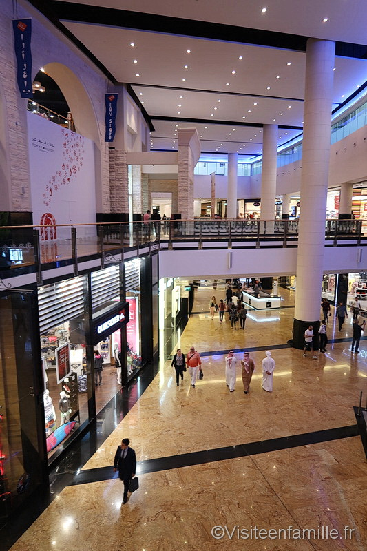 Shopping in Mall of the Emirates