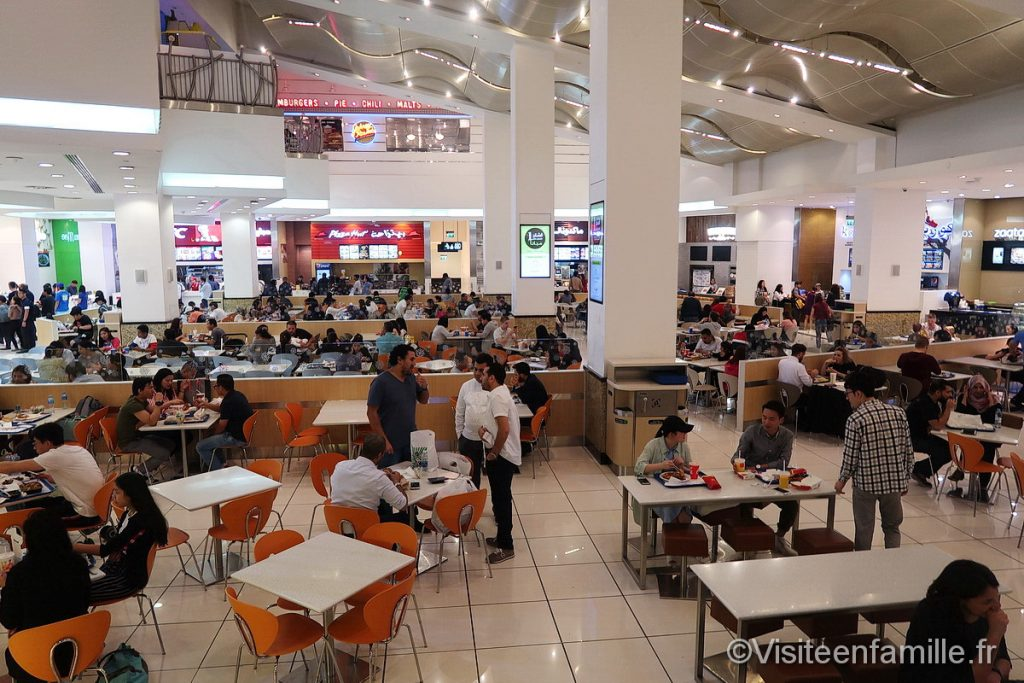 Fast food in Mall of the Emirates