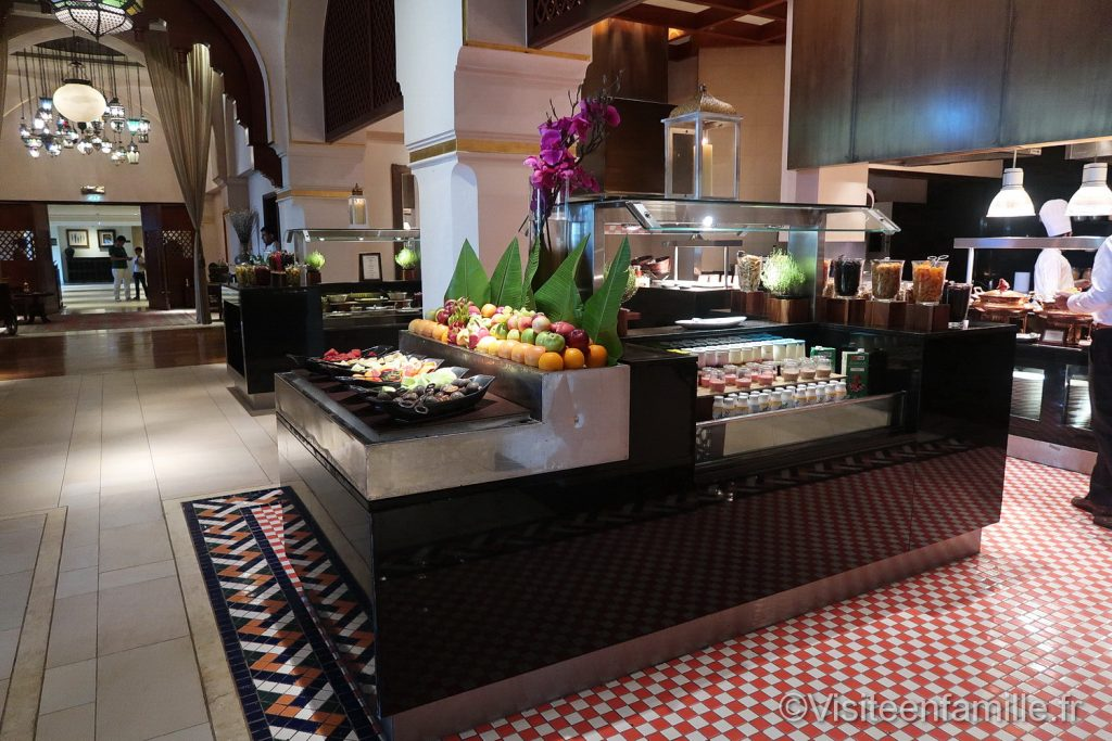 Le petit déjeuner du Palace Downtown Dubai