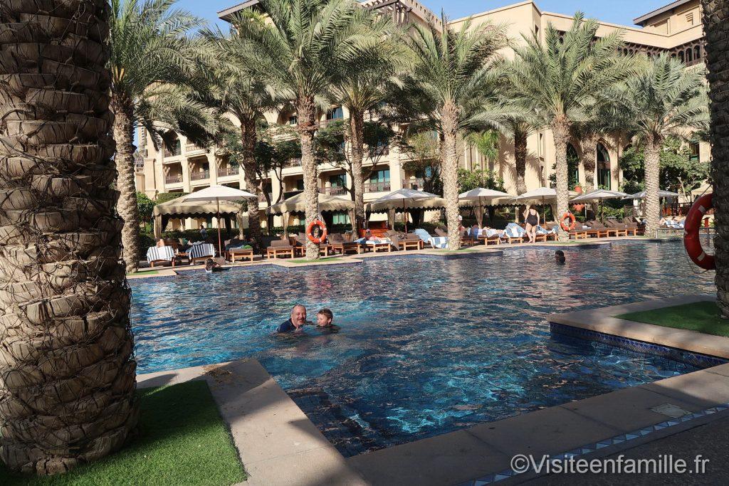 Piscine du Palace Downtown Dubai