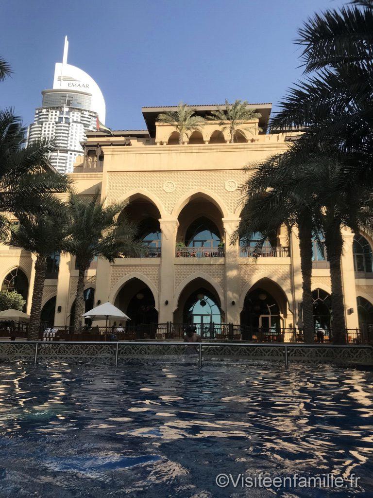 La piscine du Palace Downtown Dubai