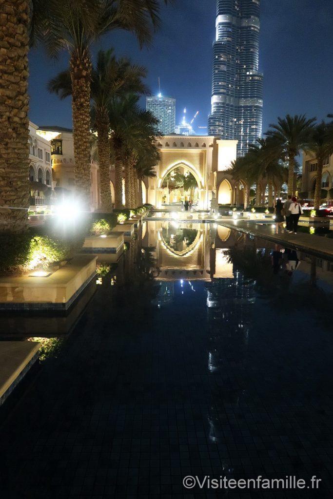 entrée du Palace Downtown Dubai