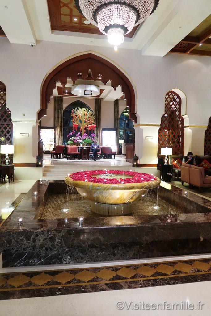 hall d'entrée du Palace Downtown Dubai