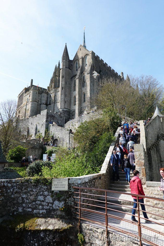 L'abbaye du mont Saint Michel