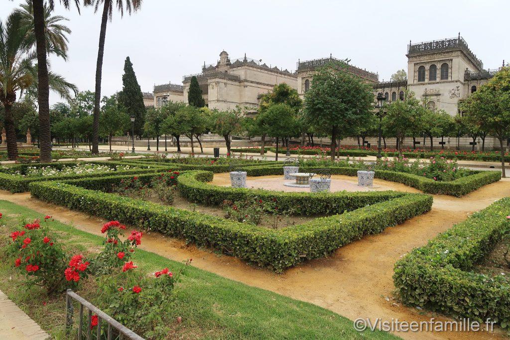 Jardin Plaza de América de Séville