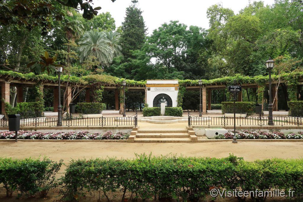 Le parc de Maria Luisa à Seville