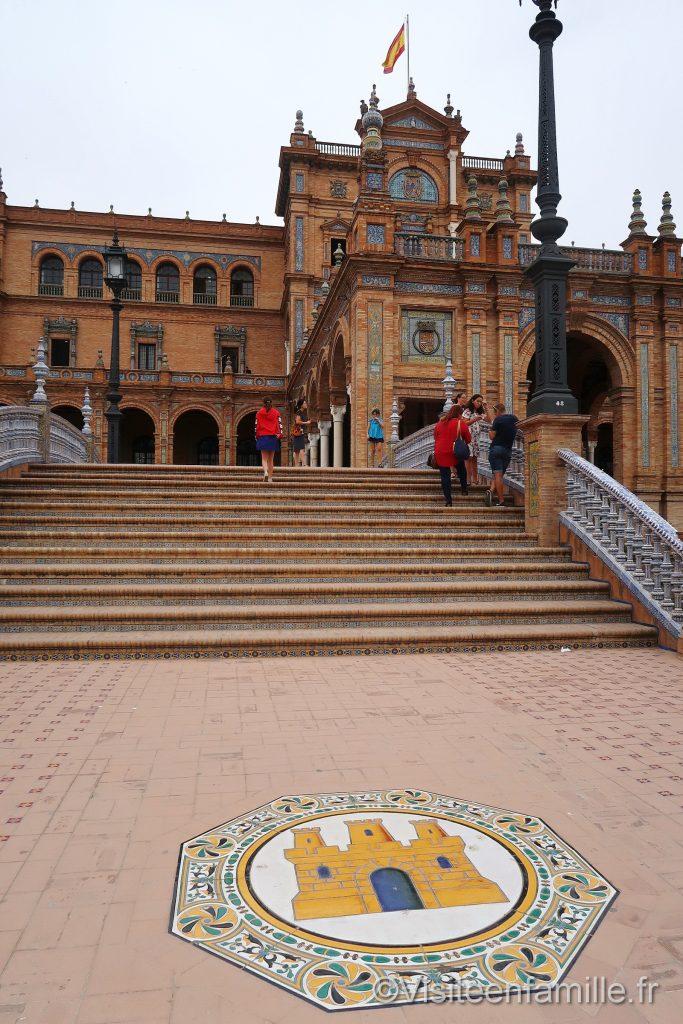 Le pont de La Plaza de España