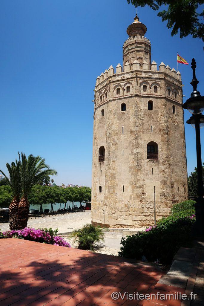 La Tour de l'Or Torre del Oro de Séville