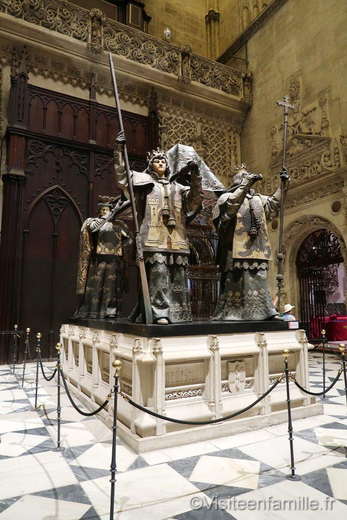 Relique dans Cathédrale Notre-Dame du Siège de Séville