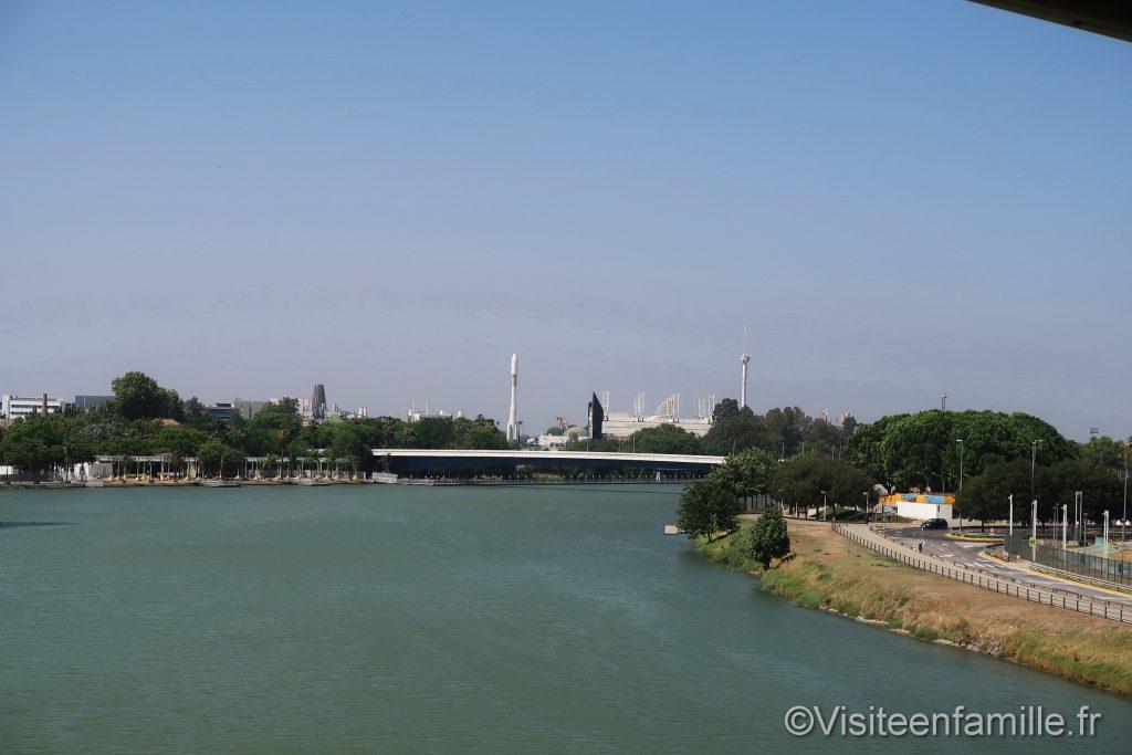 fleuve Guadalquivir de Séville