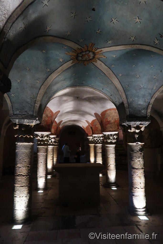 Crypte cathédrale Bayeux