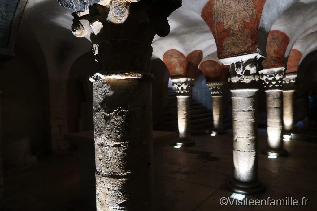 Crypte cathédrale de Bayeux