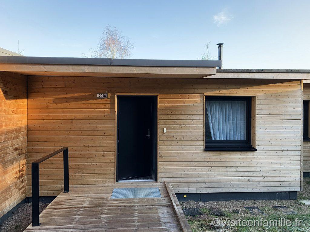 L'entrée de notre cottage VIP exclusive au trois forêt