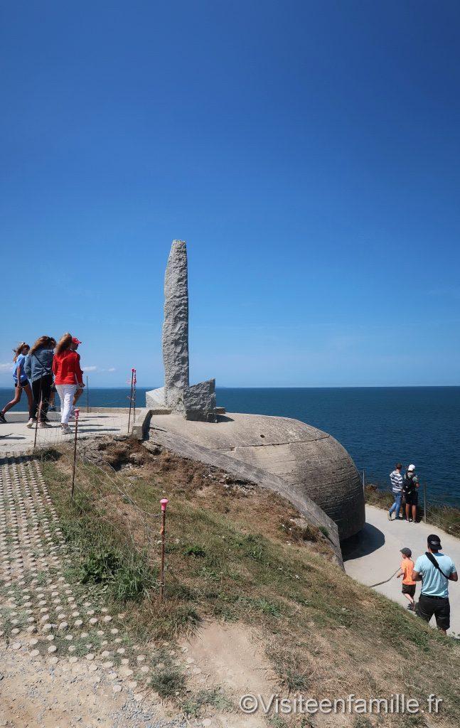 Monument pointe du hoc
