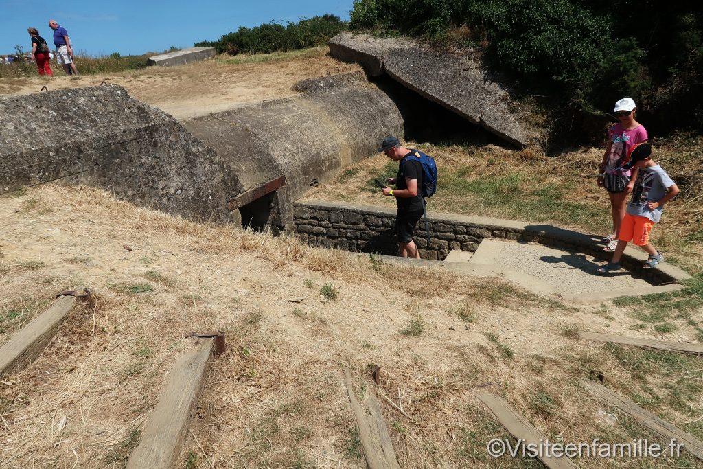 Visite d'un bunker