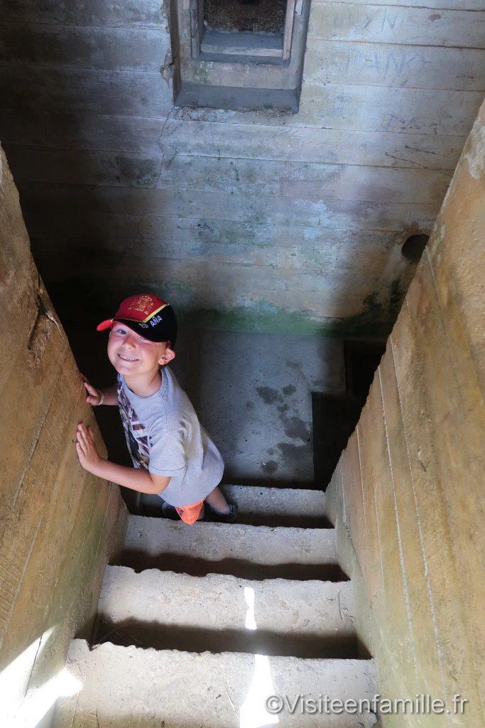 Visite d'un Bunker Pointe du hoc