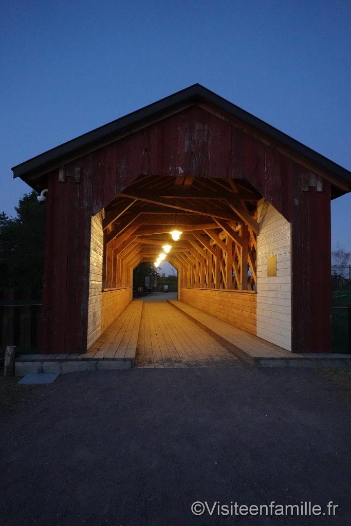 pont en bois du parc sainte croix