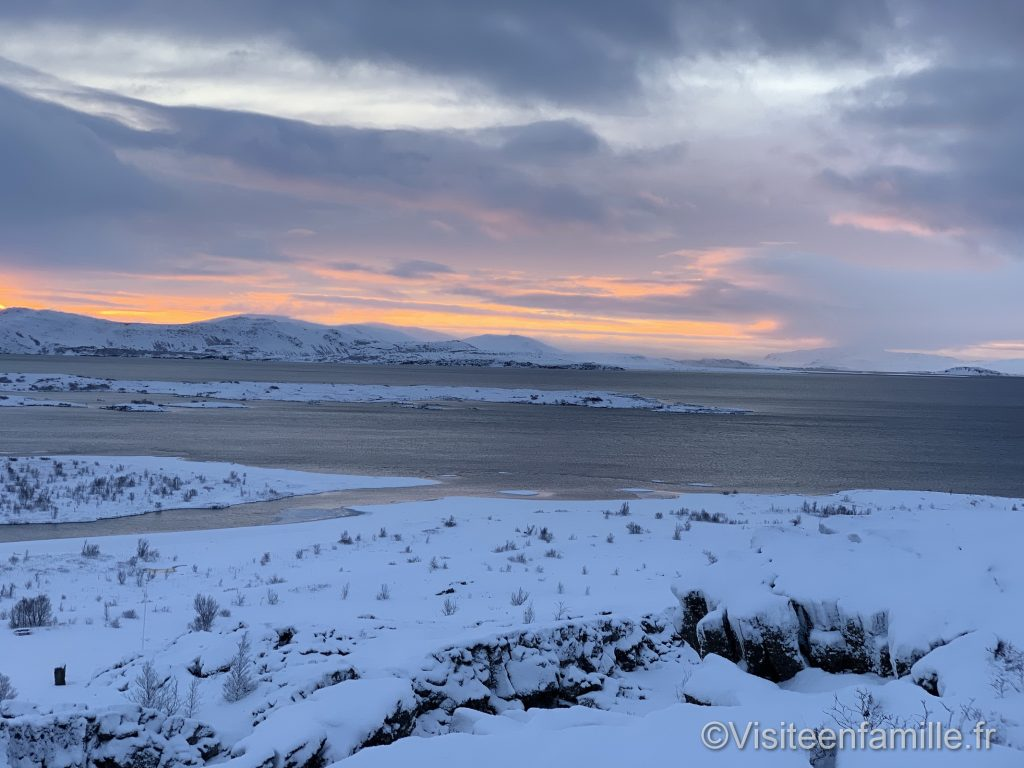 Vue depuis le golden circle en Islande