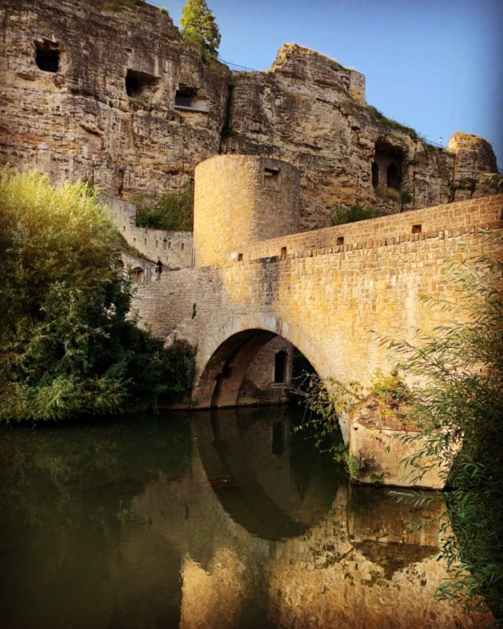 Pont abbaye neumünster luxembourg