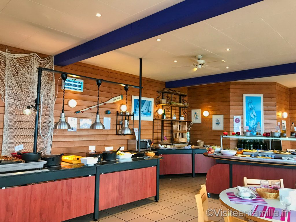 Restaurant du club Belambra Omaha beach