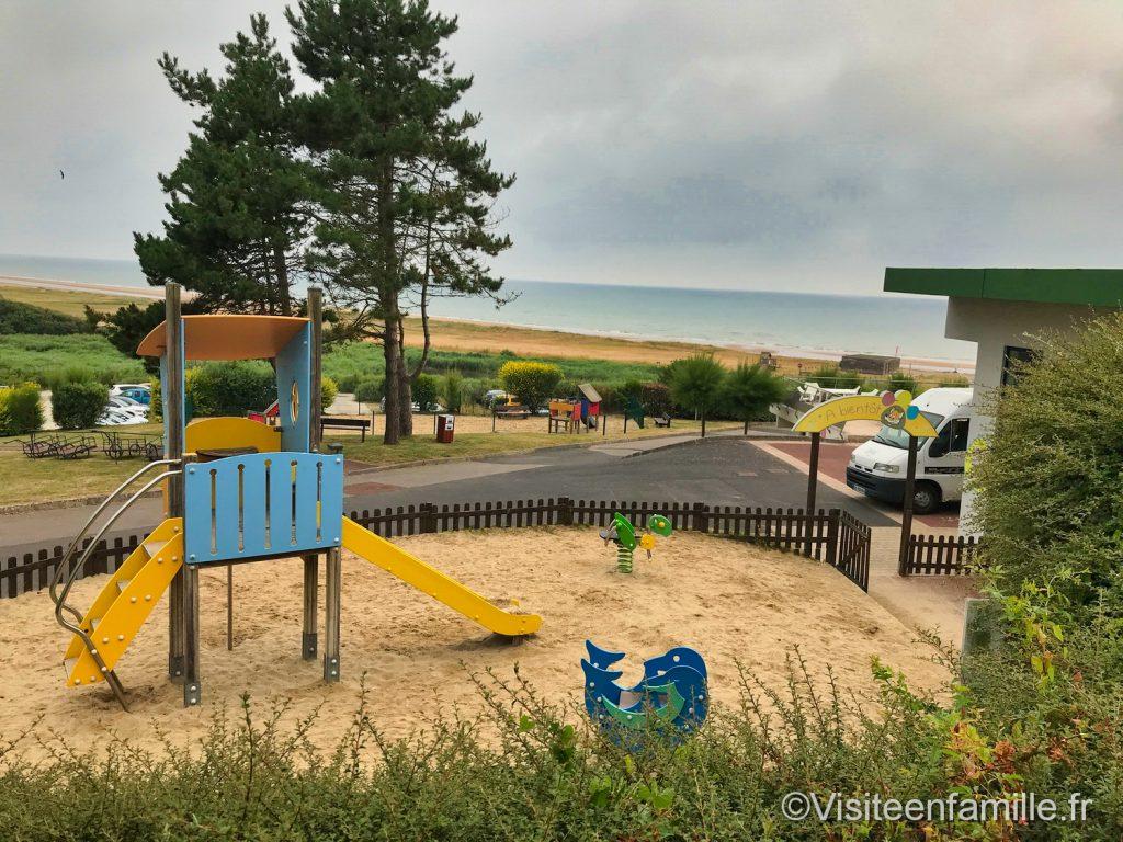 L'aire de jeux pour enfants du Belambra Omaha beach
