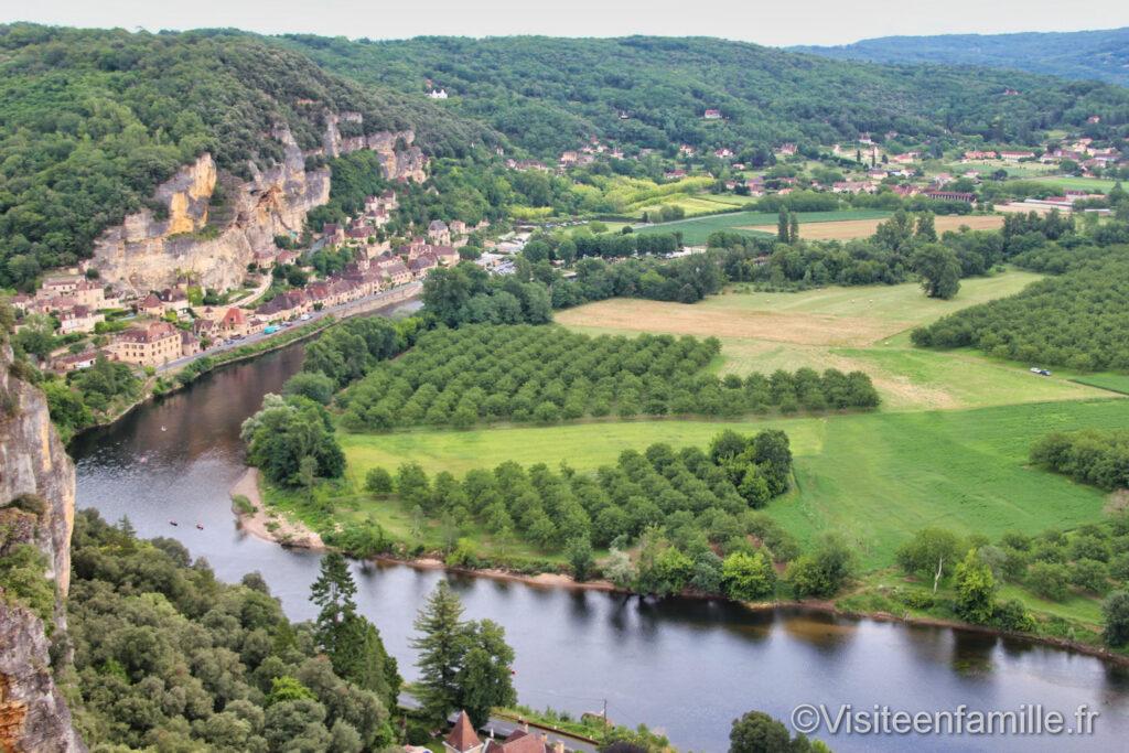 la vallée de la Dordogne
