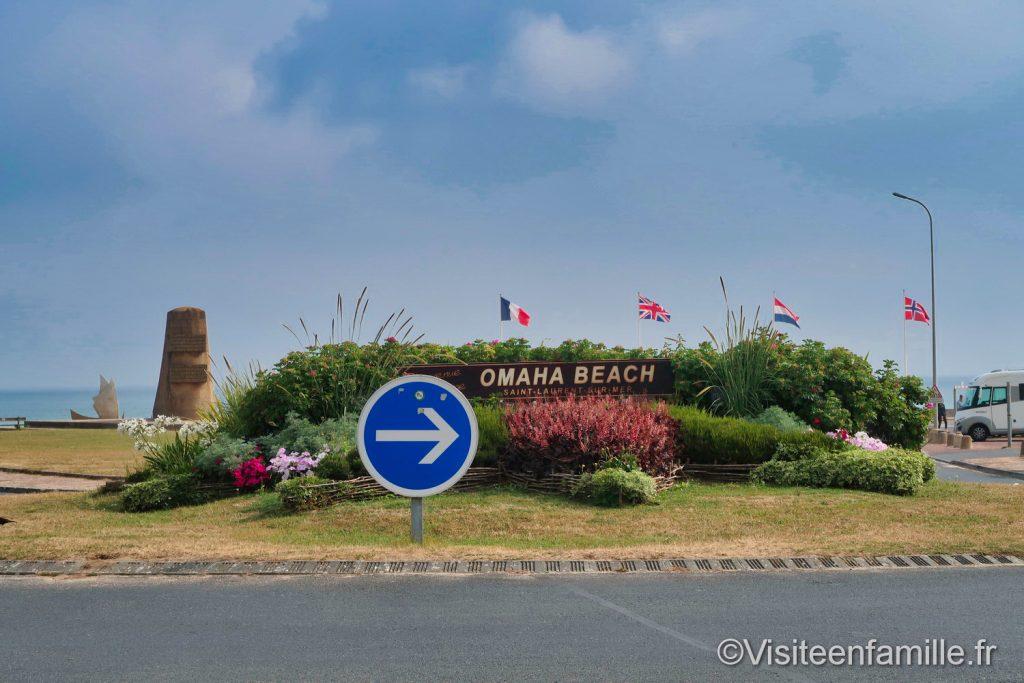 rond point Saint-Laurent-sur-Mer
