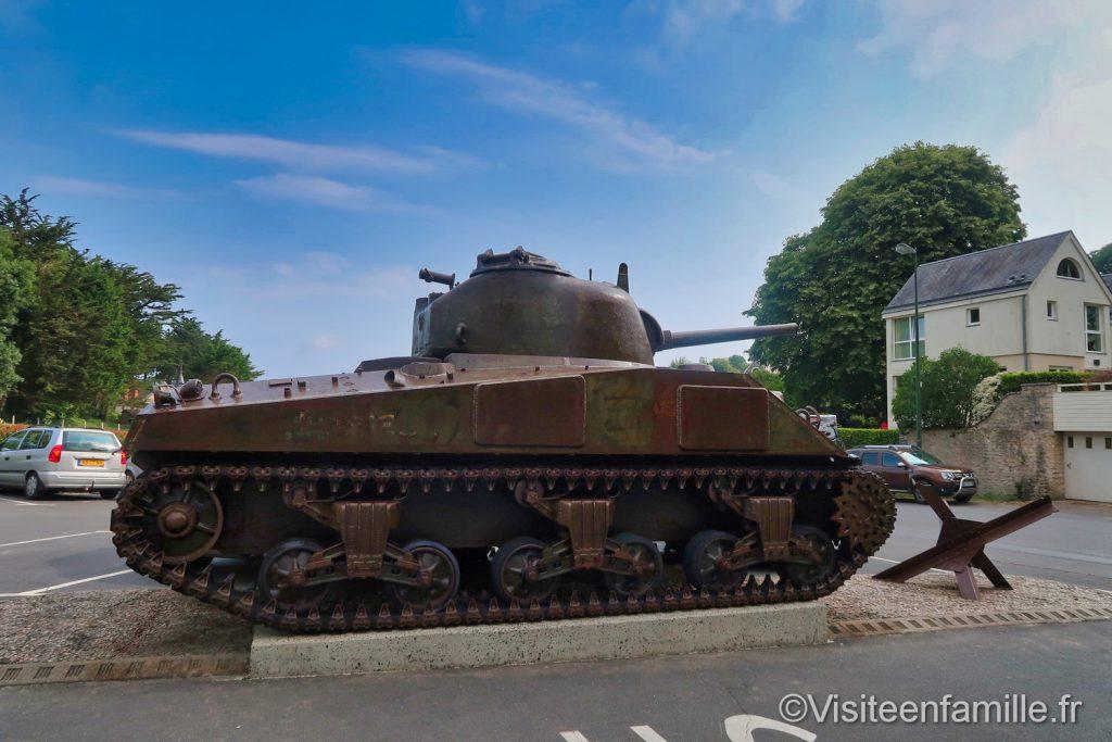 tank du Musée Mémorial d'Omaha beach