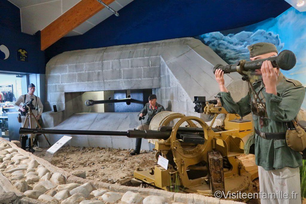bunker du Musée Mémorial d'Omaha beach