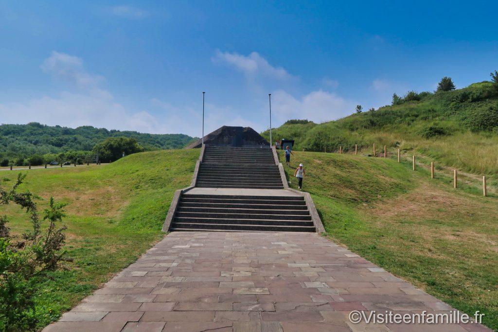 escalier le Ruquet Nomandie