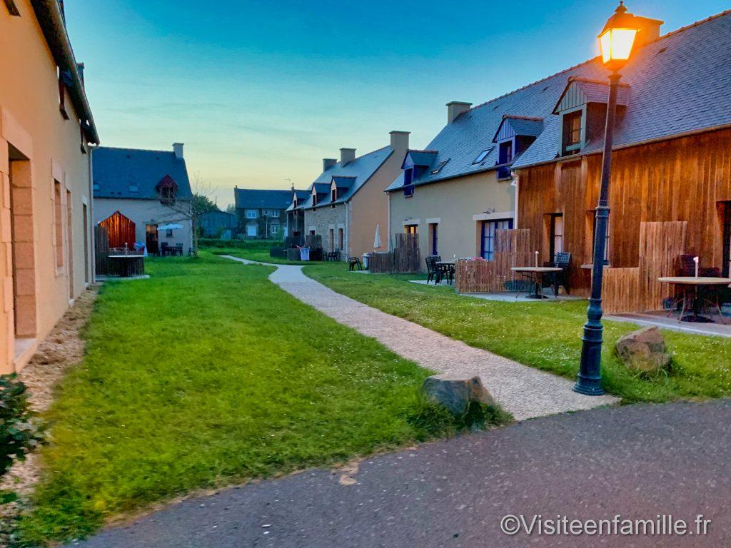 Les maisons du village cancalais