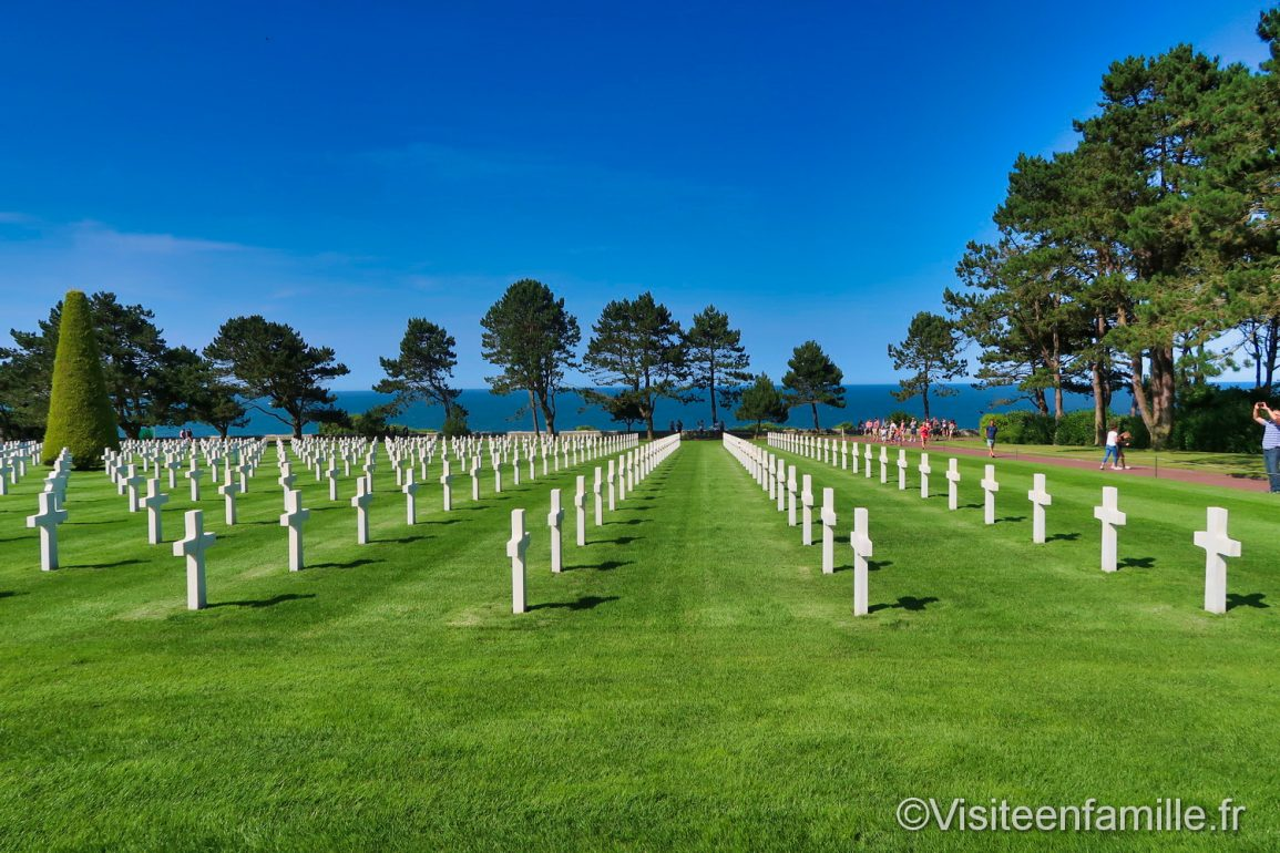 Le cimetière militaire américain de Colleville-sur-Mer